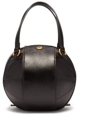 Gucci Tifosa Football Small Leather Handbag - Mens - Black