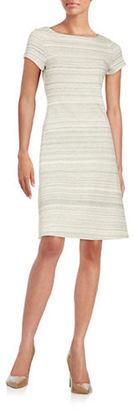 Ivanka Trump Heathered Sheath Dress $138 thestylecure.com