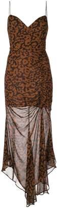 Nicholas leopard print dress