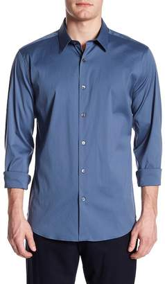 Theory Sylvain Precise Point Collar Shirt (Trim Fit)