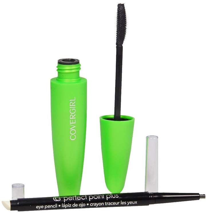 Covergirl CoverGirl Clump Crusher Mascara & Perfect Point Pencil Black