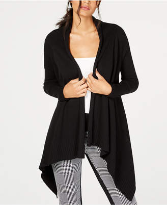 INC International Concepts I.n.c. Handkerchief-Hem Open-Front Cardigan, Created for Macy's