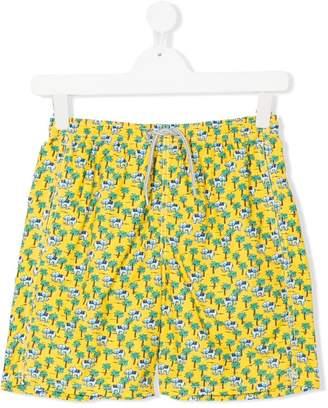 MC2 Saint Barth Kids TEEN elephant print swim shorts