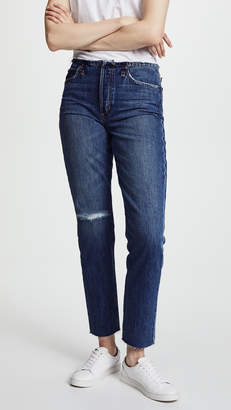 Joe's Jeans The Kass Waistless Slim Straight Ankle Jeans