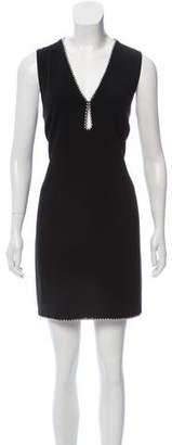 Alexander Wang Embellished Sleeveless Dress