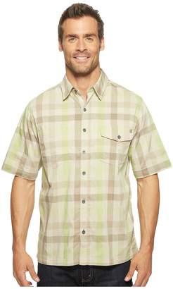 Woolrich Performance Shirt Men's Short Sleeve Button Up