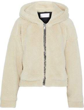 RE/DONE Faux Shearling Hoodie