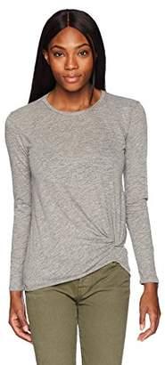 Stateside Women's Supima Slub Long Sleeve Twist Tee