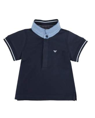 Armani Junior Small Logo Polo