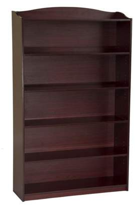 At Walmart Guidecraft Kids Bookshelf 5 Tier With Adjustable Shelves Multiple Colors