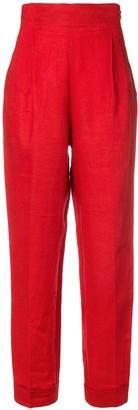 Romeo Gigli Pre-Owned high-waist pleated trousers