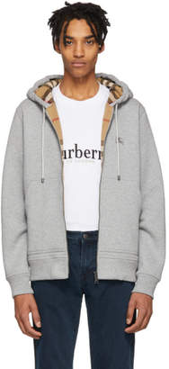 Burberry Grey Core Hoodie