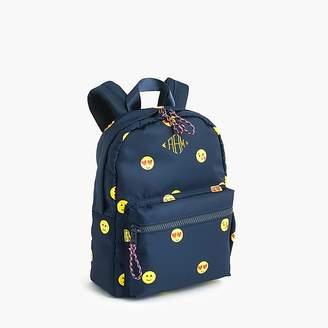 J.Crew Kids' emoji-print mini backpack