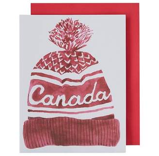 Paper E. Clips Holiday Boxed Cards Canada Hat
