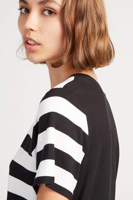 French Connenction Briant Stripe Blocked Jersey T-Shirt