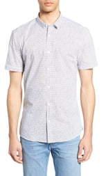 4e31c0fd26a6 HUGO Empson Extra Slim Fit Print Sport Shirt
