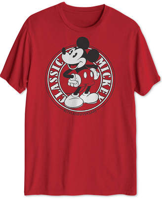 Hybrid Classic Mickey Mouse Men's Graphic T-Shirt