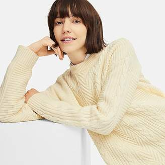 Uniqlo Women's Cable Long Sweater