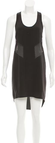 Alexander WangAlexander Wang Silk Laser Cut Dress
