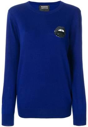 Markus Lupfer Sequin Mini Lara Lip sweater