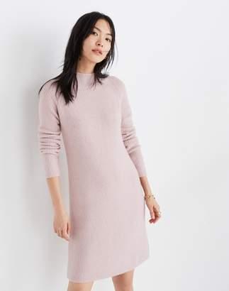 Madewell Northfield Mockneck Sweater-Dress in Coziest Yarn