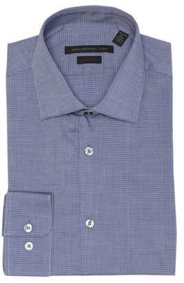 John Varvatos Printed Slim Fit Dress Shirt