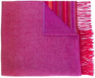 Paul Smith striped tassel scarf