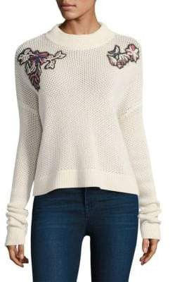 Tanya Taylor Ronnie Wool& Cashmere Sweater