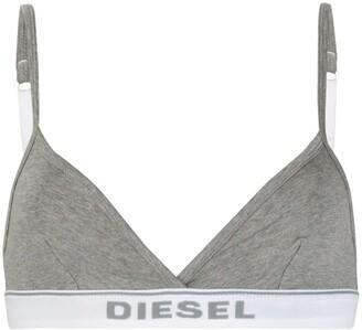 Diesel logo lettering soft bra