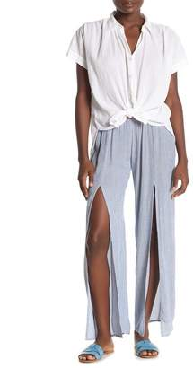 Elan International Front Slit Pants