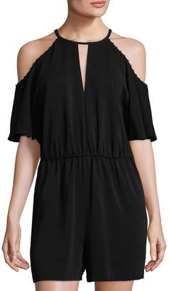 Rachel Zoe Women's Gemini Cold Shoulder Romper