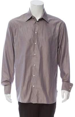 Armani Collezioni Sateen Dress Shirt