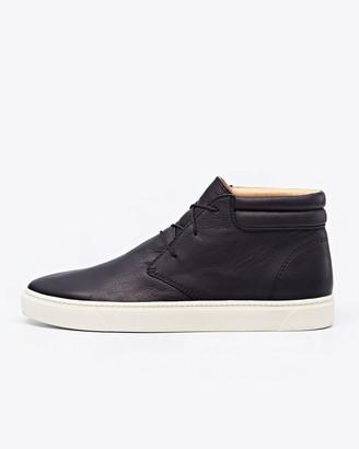 Nisolo Cortez Mid Top Sneaker Black