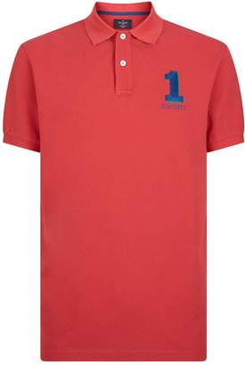 Hackett Embroidered Polo Shirt