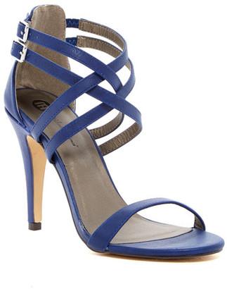 Michael Antonio Rixy Double Strap Heeled Sandal $49 thestylecure.com