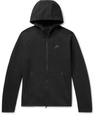 Nike Cotton Tech Fleece Zip-Up Hoodie - Men - Black