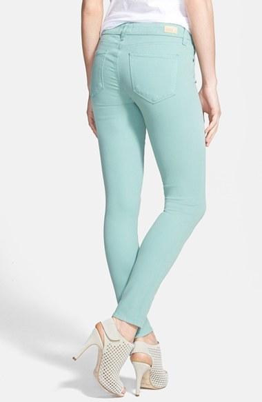 Paige 'Verdugo' Skinny Ankle Jeans (Beach House)