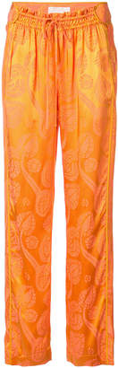Peter Pilotto patterned drawstring trousers