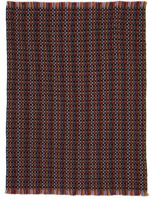 Missoni Home Jocker Woven Wool Blend Throw - Black Multi