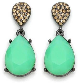 Wild Lilies Jewelry Jade Drop Earrings $25 thestylecure.com
