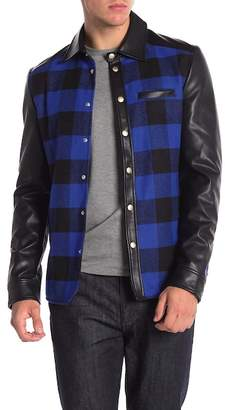 Slate & Stone Eco Faux Leather Jacket