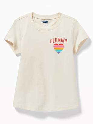 Old Navy Logo-Graphic Tee for Toddler Girls