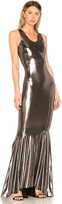 Norma Kamali Racer Gown