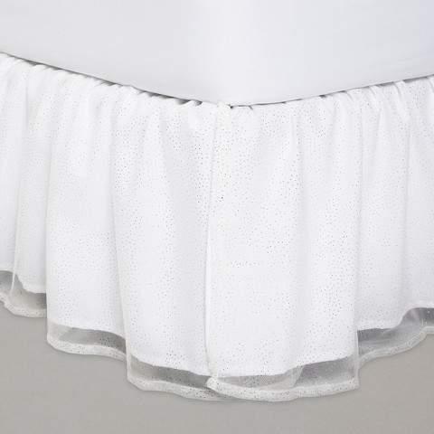 Pillowfort Glitter Dot Tulle Bedskirt