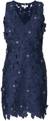 MICHAEL Michael Kors guipure floral lace mini dress