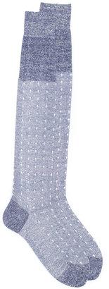 Fashion Clinic Timeless dot pattern socks $37.39 thestylecure.com
