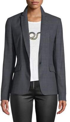 Rag & Bone Lexington Check Wool Blazer Jacket