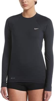 Nike Women's Solid Rash Guard