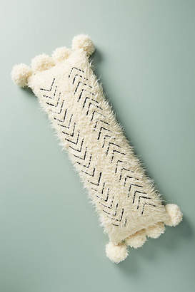 Anthropologie Bailey Faux Fur Pillow