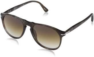 Persol 9649 Aviator Sunglasses 972/51 Smokey Havana / Brown Gradient 52 mm